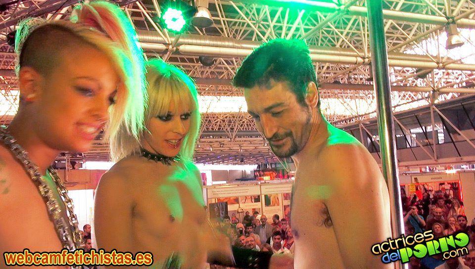 Trio SEB 2013 Show BDSM en vivo
